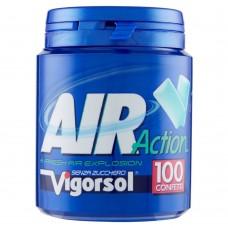 Жевательная резинка с лакрицей Perfetti Van Melle Vigorsol Air Action Original, 135 г